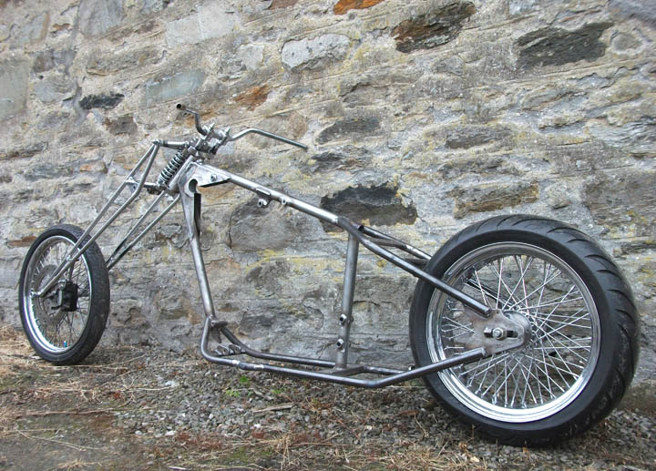 Harley Davidson Sportster Custom Hardtail Hard Tail Chopper Frames ...
